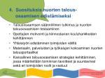 4 suosituksia nuorten talous osaamisen edist miseksi