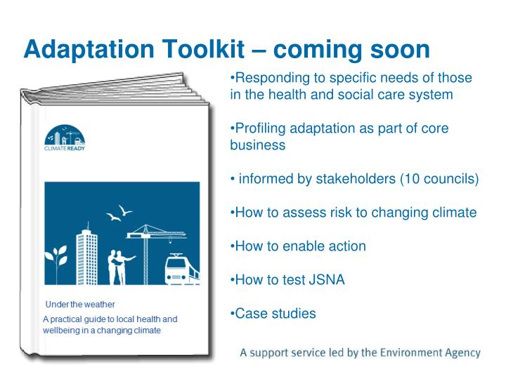 Adaptation Toolkit – coming soon