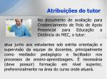 atribui es do tutor