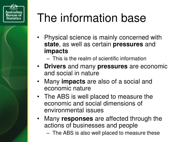 The information base