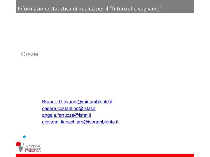 """Informazione statistica di qualità per il """"futuro che vogliamo"""""""