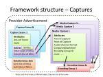 framework structure captures