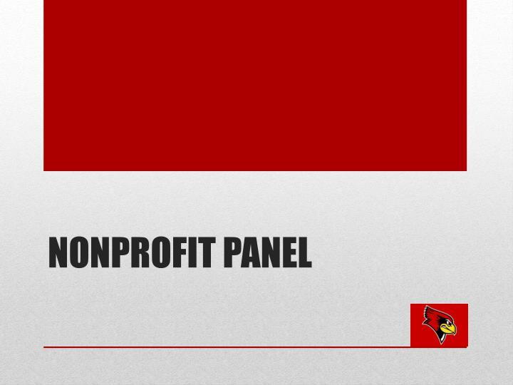 Nonprofit panel
