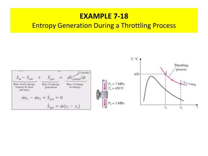 EXAMPLE 7-18