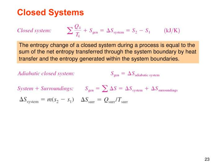 Closed Systems
