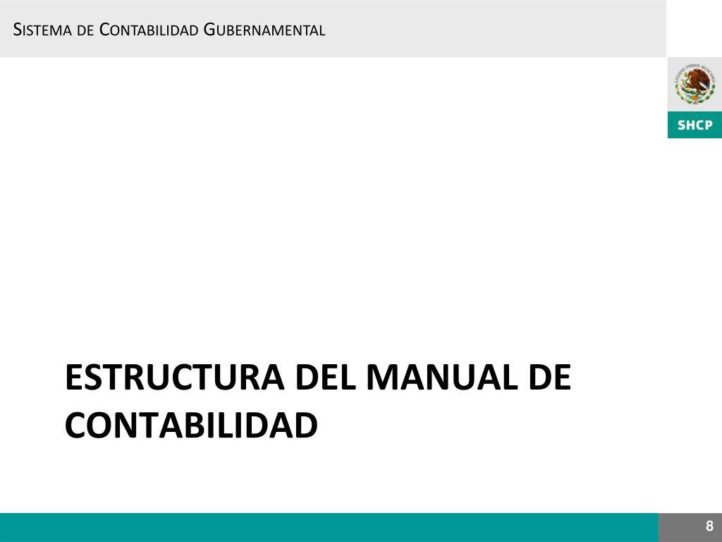 Ppt Sistema De Contabilidad Gubernamental Nuevo Modelo