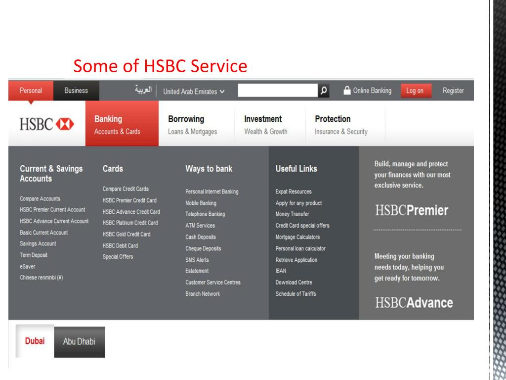 PPT - Presentation about HSBC bank PowerPoint Presentation - ID:6284450