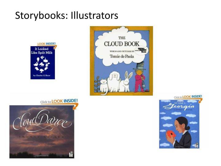 Storybooks: Illustrators
