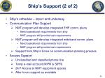 ship s support 2 of 2