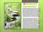 8 modernism and reaction
