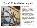 the atlas small wheel upgrade