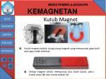 kutub magnet