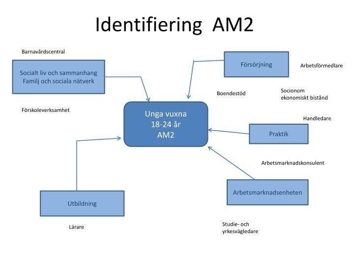 Identifiering  AM2