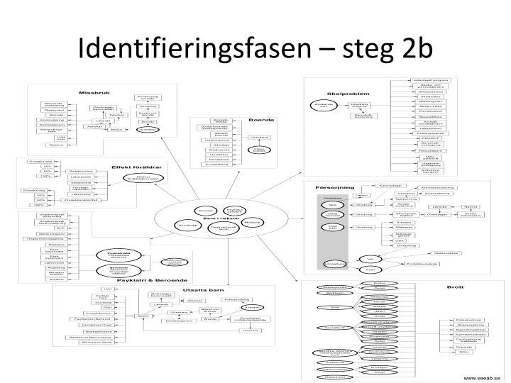 Identifieringsfasen – steg 2b