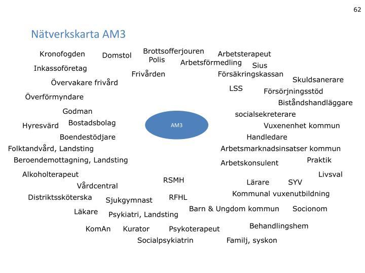 Nätverkskarta AM3