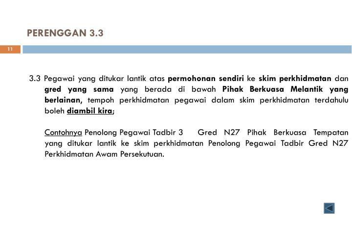 PERENGGAN 3.3