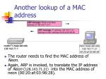 another lookup of a mac address
