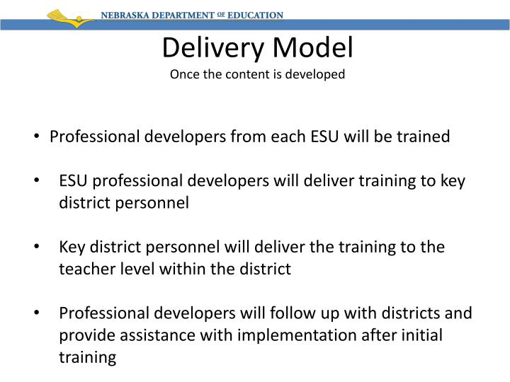 Delivery Model