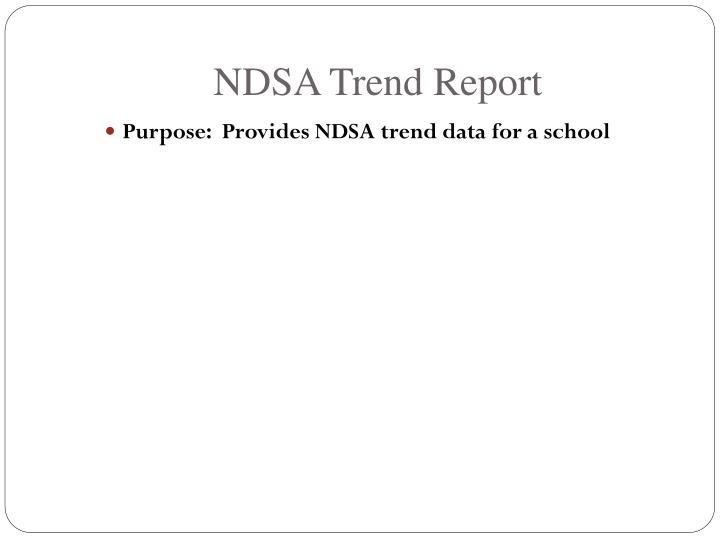 NDSA Trend Report