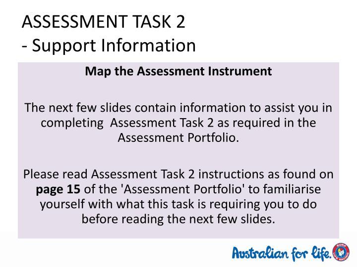 ASSESSMENT TASK 2