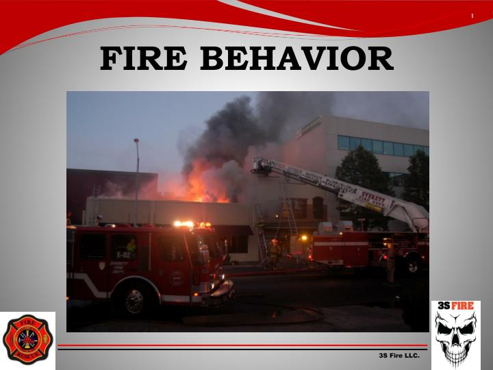 fire behavior n.