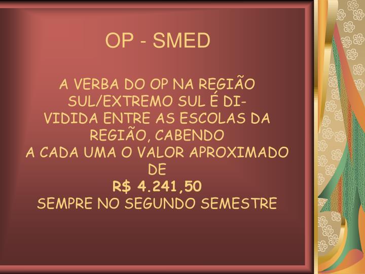 OP - SMED