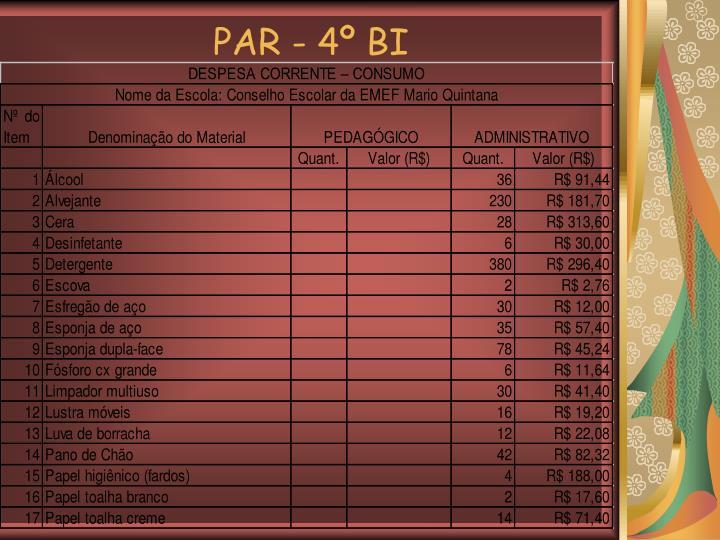 PAR - 4º BI