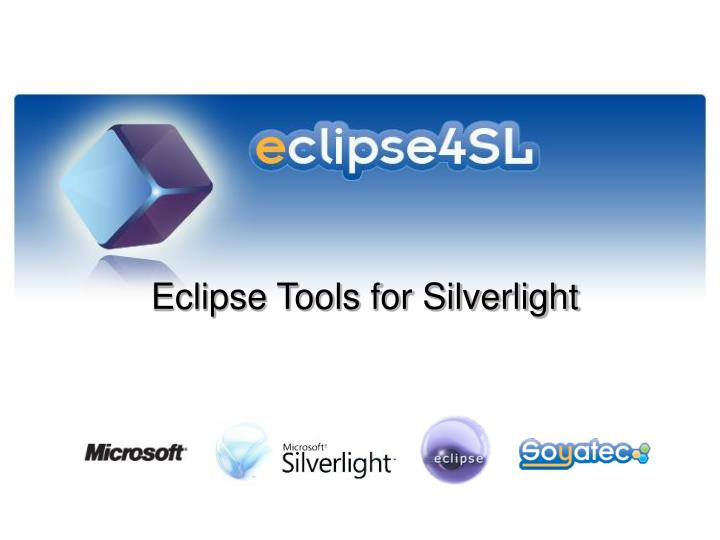 Eclipse tools for silverlight