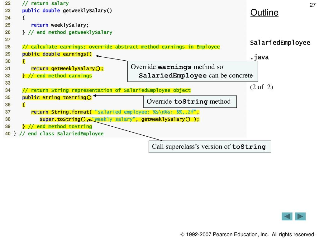 PPT - Object-Oriented Programming: Polymorphism PowerPoint