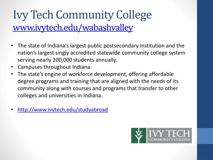 Ivy Tech Community