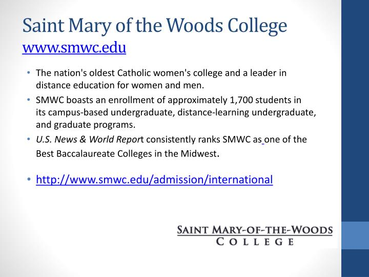Saint Mary of the Woods