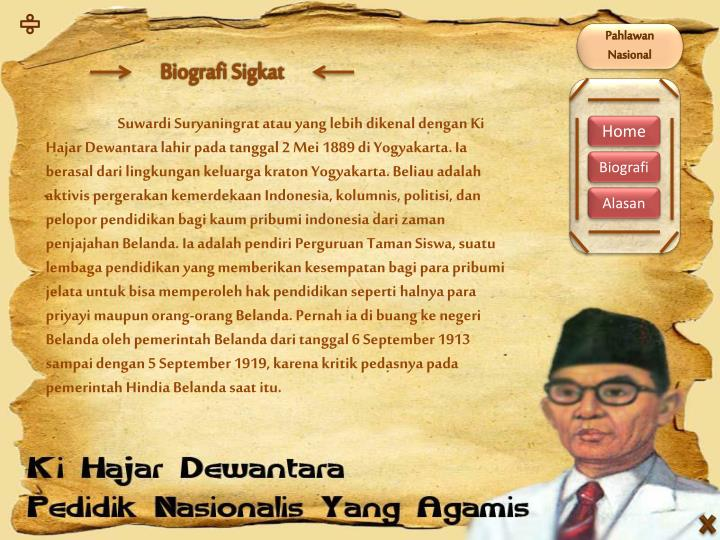 Ppt Pahlawan Nasional Powerpoint Presentation Id 6291056
