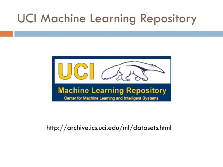 UCI Machine Learning Repository