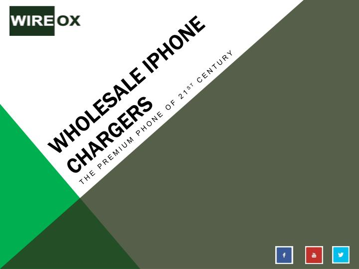 Wholesale iphone chargers