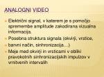 analogni video