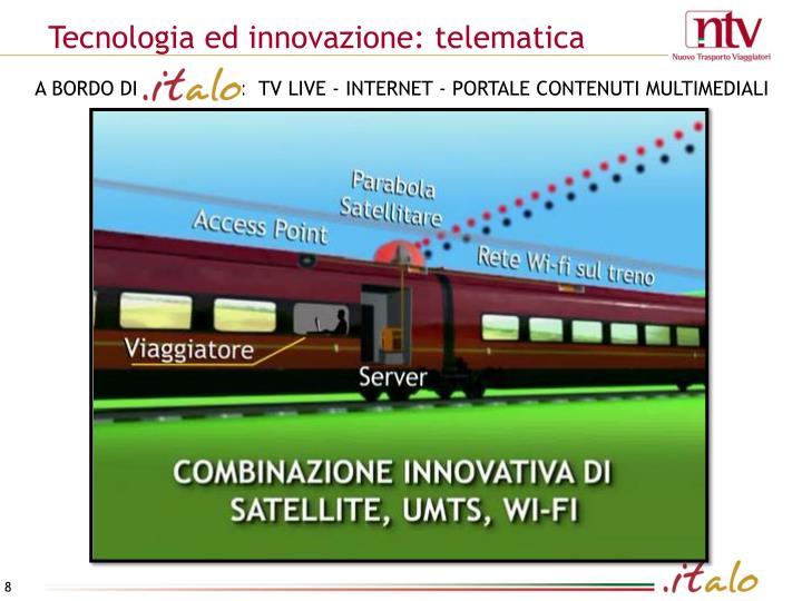 Tecnologia ed innovazione: telematica