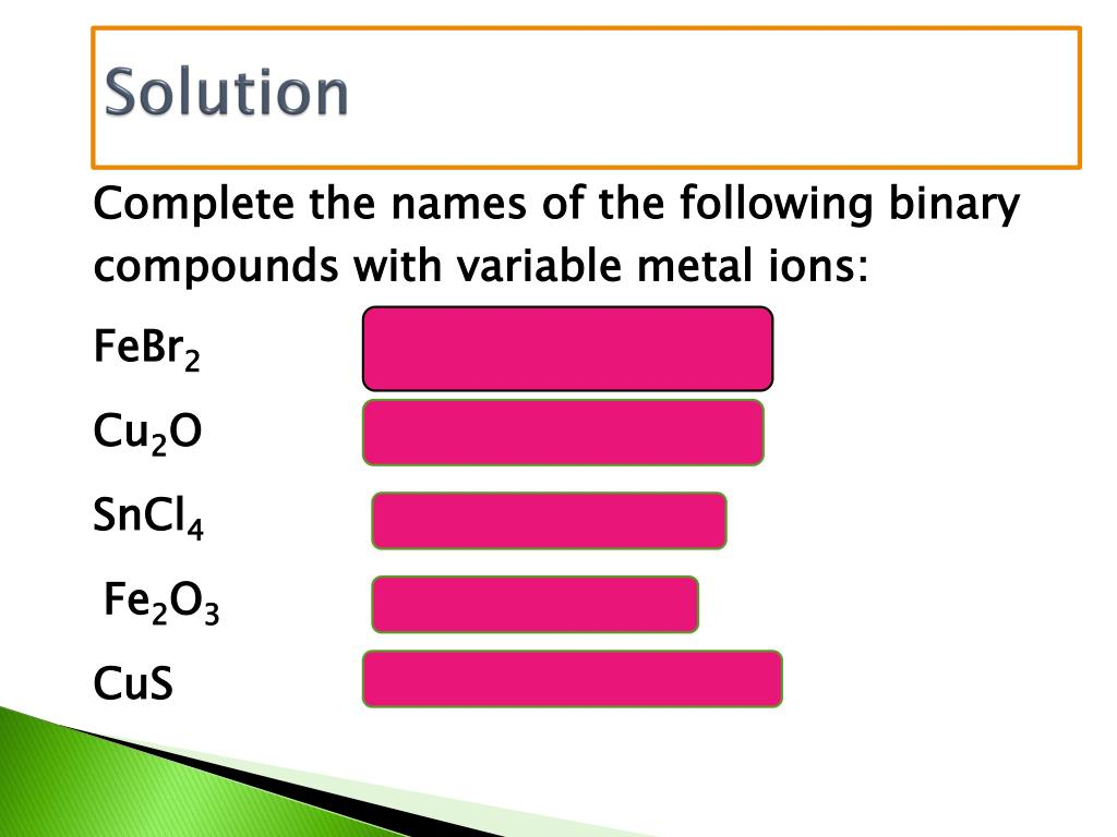 PPT - Compounds and Their Bonds PowerPoint Presentation - ID