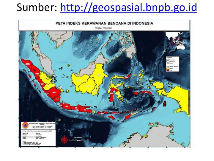 Sumber http geospasial bnpb go id