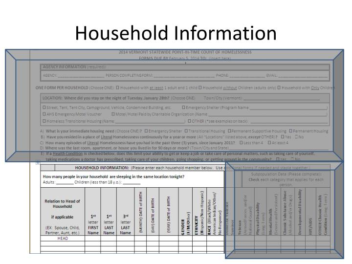 Household Information