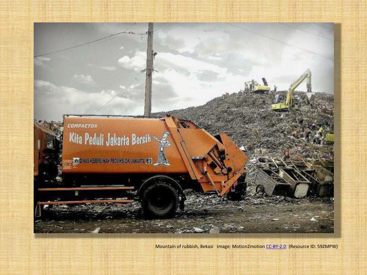 Mountain of rubbish,
