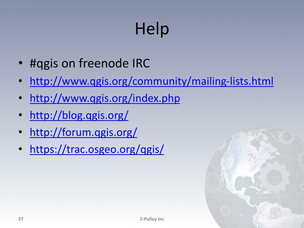 PPT - QGIS Workflows PowerPoint Presentation - ID:6294381