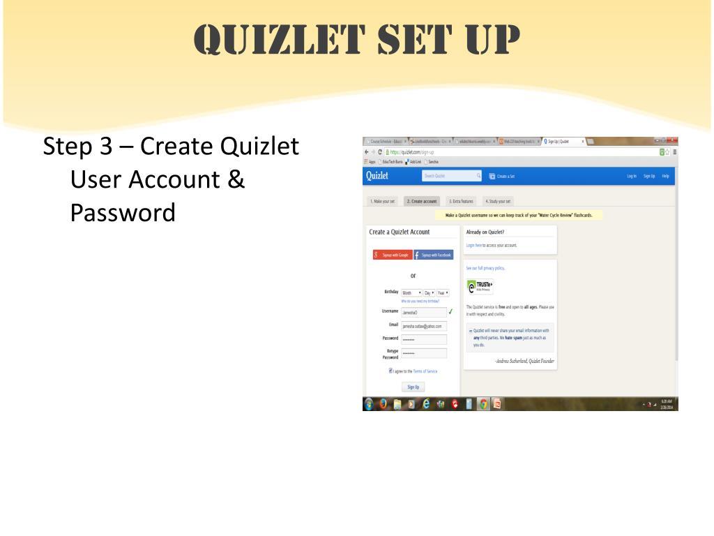 Quizlet Create