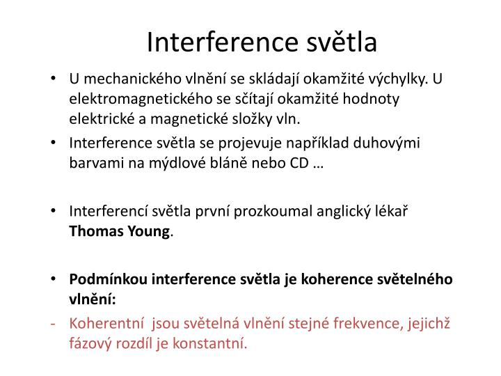 Interference sv tla