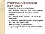 programming with ontologies java jena api