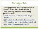physicians role