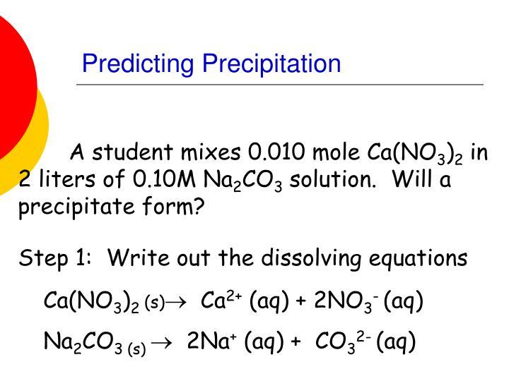 Predicting Precipitation