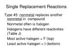 single replacement reactions2