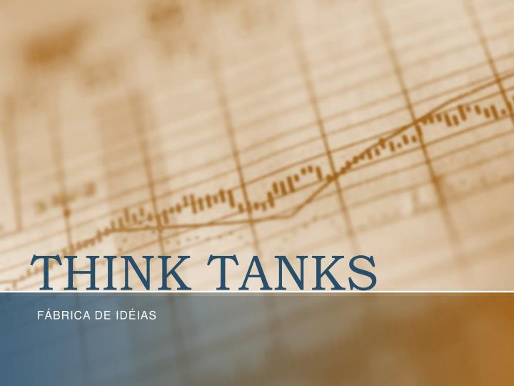 think tanks n.