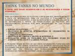 think tanks no mundo2