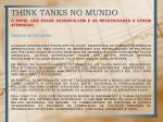 think tanks no mundo3